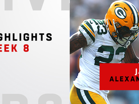 Best plays from Jaire Alexander's breakout game | Week 8