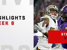 Diggs' top catches from 119-yard game | Week 8