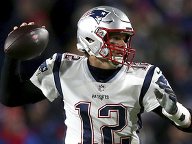Brady throws perfect pass to Hogan over middle