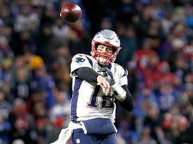 Brady throws perfect pass to Hogan just short of goal line