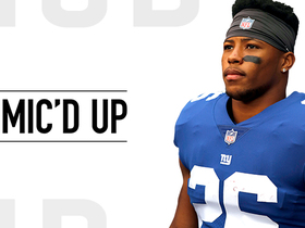 Mic'd Up: Saquon Barkley meets Adrian Peterson | Week 8