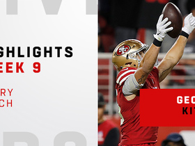 Every catch from Kittle's 108-yard night | Week 9