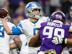 Vikings defense swarms Stafford for red-zone sack