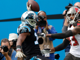 Funchess dives for goal line on 23-yard catch