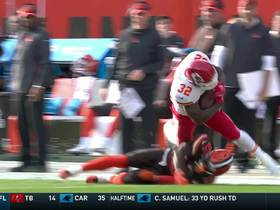 Spencer Ware's one-handed tip catch turns into 21-yard pickup