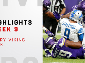 All 10 Vikings sacks vs. Lions | Week 9