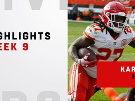 Kareem Hunt's top plays from 3-TD day | Week 9
