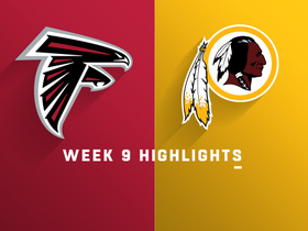 Falcons vs. Redskins highlights | Week 9