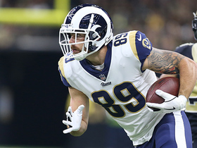 Tyler Higbee breaks tackle on 33-yard catch