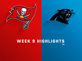 Buccaneers vs. Panthers highlights | Week 9