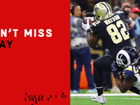 Can't-Miss Play: Ben Watson makes LEAPING grab along sideline