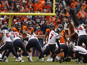 Broncos' attempt to ice kicker before halftime doesn't work