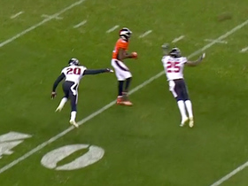 Sanders converts clutch fourth down with catch