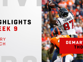 Every Demaryius Thomas catch vs. Broncos | Week 9