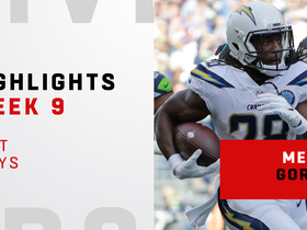 Melvin Gordon's best runs from 113-yard day | Week 9