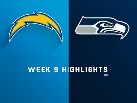 Chargers vs. Seahawks highlights | Week 9
