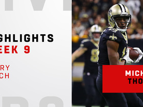 Every catch from Michael Thomas' franchise-record game | Week 9