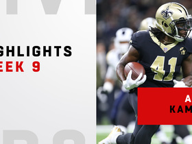 Alvin Kamara's top plays from 3-TD day | Week 9