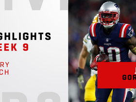 Every catch from Josh Gordon's 130-yard night | Week 9