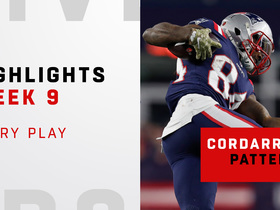 Every way the Pats used Cordarrelle Patterson | Week 9