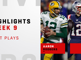 Best of Rodgers vs. Brady on 'SNF' | Week 9
