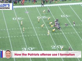 How the Patriots offense use I formation in Week 9 | Baldy's Breakdowns