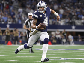 Zeke throws block for Dak to get to first-down marker