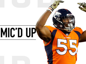 Mic'd Up: Bradley Chubb's many sideline reactions | Week 9