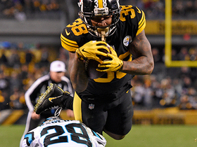 Steelers exceed 50-point mark with Samuels' TD catch