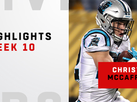 Top plays from McCaffrey's 138-yard day | Week 10