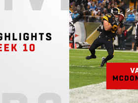 Vance McDonald highlights | Week 10