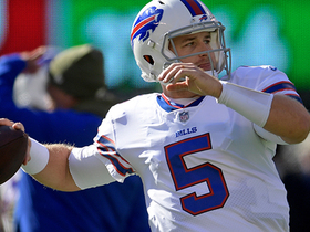 Matt Barkley's first pass as a Bill is DEEP launch to Foster