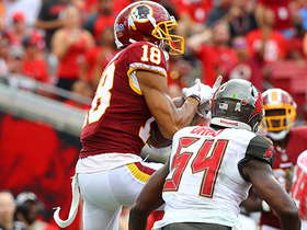 Josh Doctson RISES above two DBs for huge grab