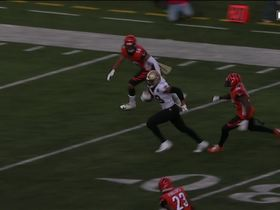 Brees launches deep to Keith Kirkwood for 42 yards