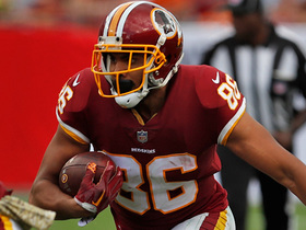 Jordan Reed enters red zone on clutch catch