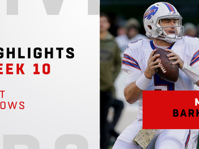Matt Barkley's best throws from Bills debut | Week 10