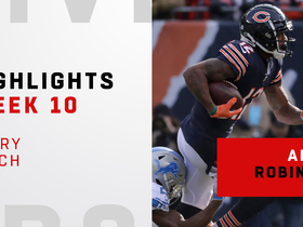 Every catch from Robinson's 133-yard day | Week 10