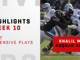 Best defensive plays by Khalil Mack and Roquan Smith | Week 10