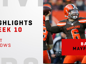 Mayfield's top throws from 3-TD game   Week 10