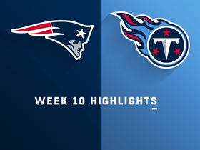 Patriots vs. Titans highlights | Week 10