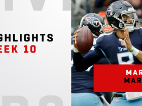 Marcus Mariota's best plays vs. Patriots | Week 10