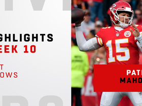 Patrick Mahomes' best throws vs. Cardinals | Week 10