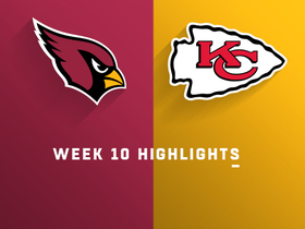 Cardinals vs. Chiefs highlights | Week 10