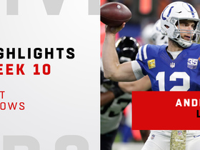 Andrew Luck's best throws vs. Jaguars | Week 10