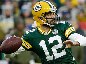 Rodgers finds his target Adams on the money for TD