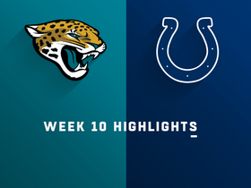Jaguars vs. Colts highlights | Week 10