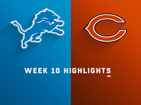 Lions vs. Bears highlights | Week 10
