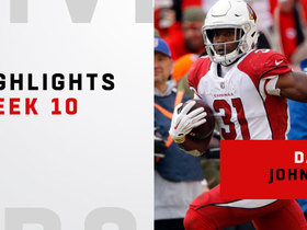 Highlights from David Johnson's monster game | Week 10