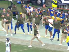 Rams fired up after recovering Seattle's surprise onside kick