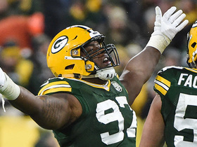 Packers sack Brock three times on four downs